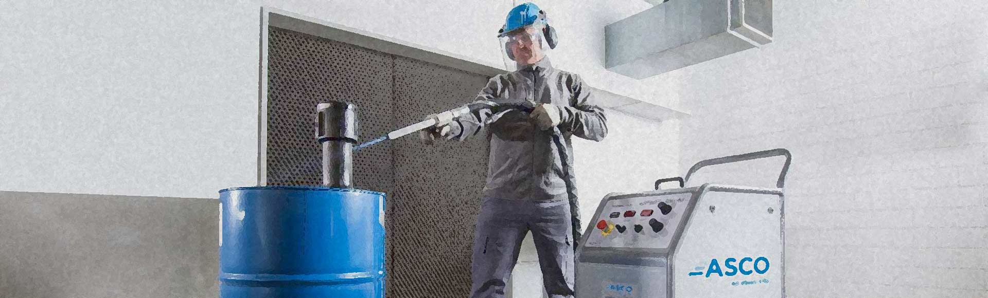 Welcome to Dry & Wet Ice Blasting & Cleaning by Elmer Wallace Ltd
